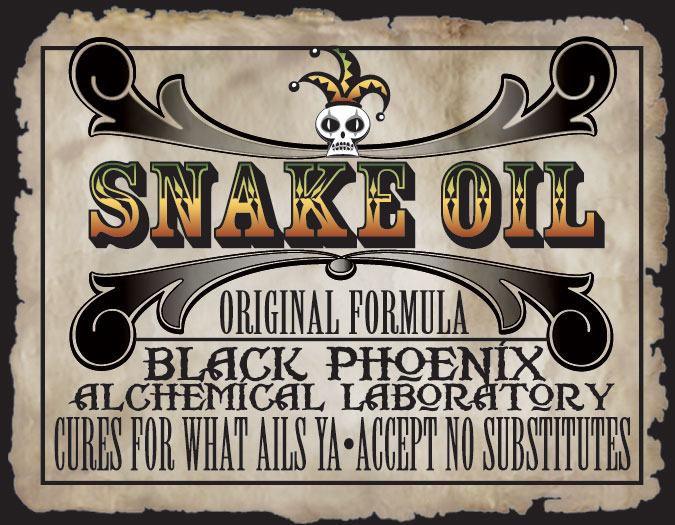 Image result for Alt media snake oil
