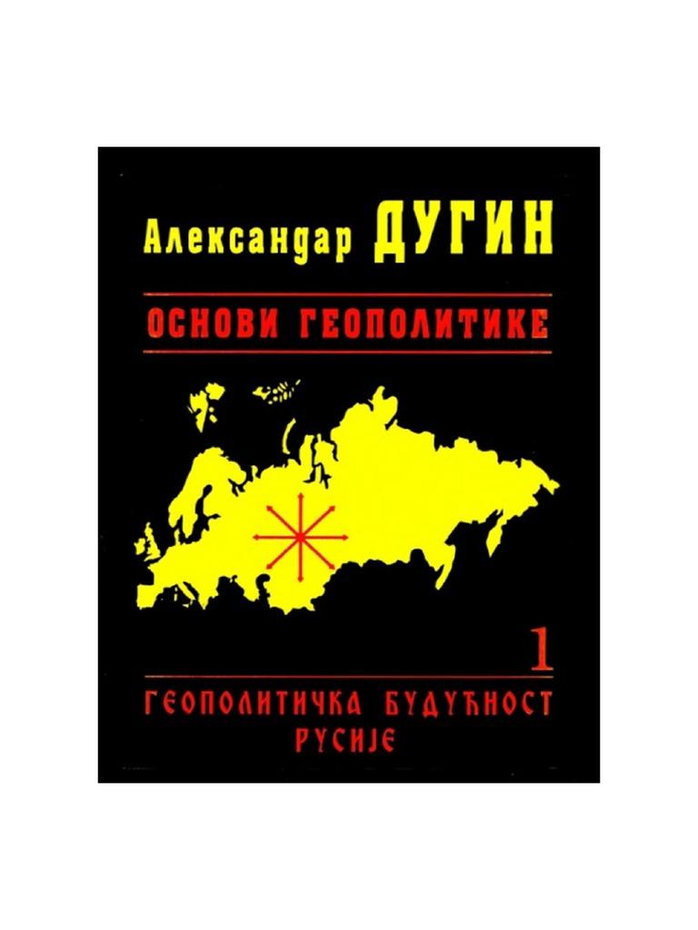 the foundations of geopolitics english pdf