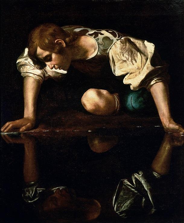 1200px Narcissus Caravaggio 1594 96 edited